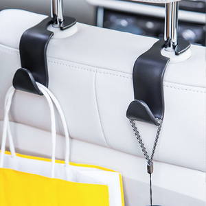 Image 5 - Universal Car Seat Hook Auto Back Seat Headrest Organizer Hanger Storage Holder for Groceries Bag Cloth Handbag Durable