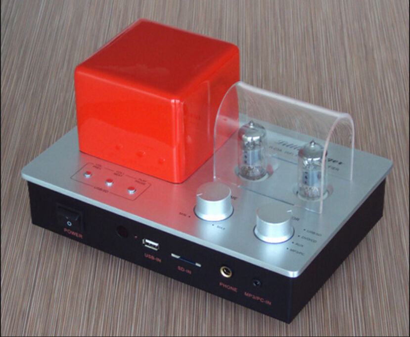 sep-store H-03A Hybrid Tube Stereo Integrated Amplifier Headphone amp remote