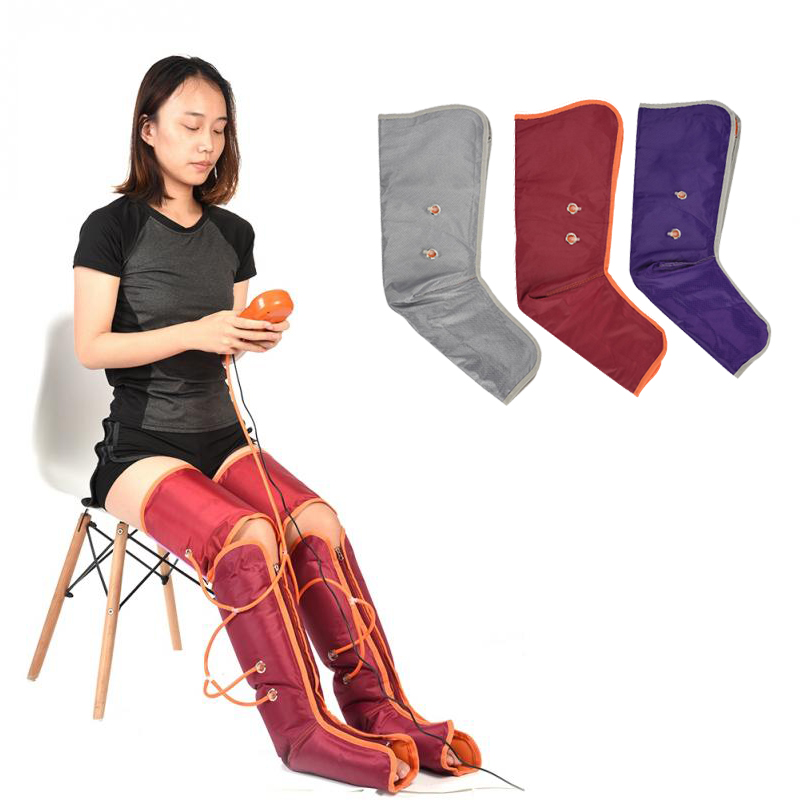 Massager Electric Air Compression Massage Arm Leg Wraps Foot Ankles Promote Blood Circulation Pain Relief Fatigue Slim Massager far infrared heat foot massager vibrating massage blood circulation pain relief