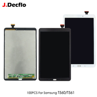 100 PCS Original For Samsung Galaxy Tab E 9.6 T560 T561 SM T560 SM T561 Tablet LCD Display Touch Screen Digitizer Assembly