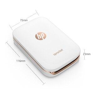 Image 5 - MIni impresora de fotos de bolsillo, teléfono móvil HP, piñón de estampado pequeño, Bluetooth, portátil, de bolsillo, para casa