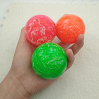 5pcs Rubber Bouncing Balls Bouncy Clouds Colorful jumping ball for Child Bathing float juggling pinball toy kids outdoor game