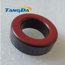Tangda Iron powder cores T130-14 OD*ID*HT 33*20*11 mm 14nH/N2 14ue Iron dust core Ferrite Toroid Core toroidal Black red