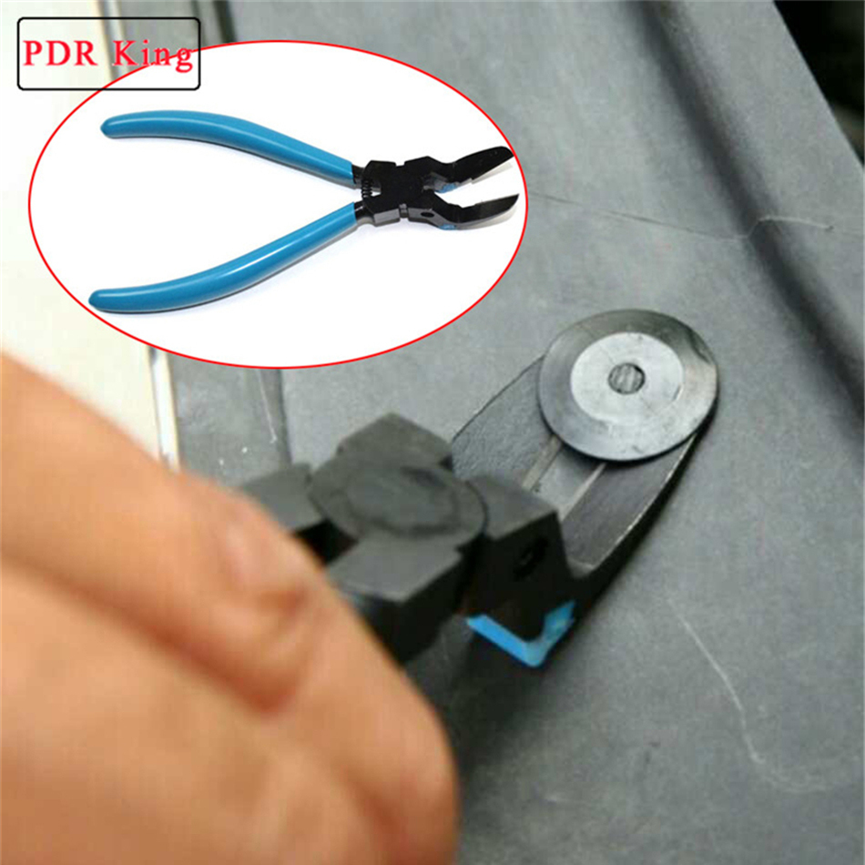 Multi-function blue Car Door Panel Upholstery Remover Tools Trip remover tools PDR KING accessory
