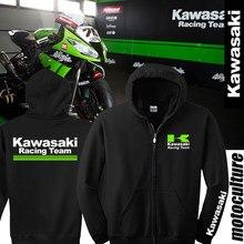 dddc252be Motocicleta Casual Sudadera Sombrero T Kawasaki 2018 Camisa Malla  Vestimenta Camisa Manga Corta Chaquetas Motos