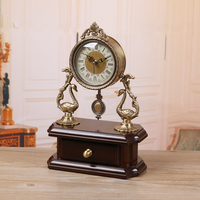 Meijswxj Metal Desktop Clock Saat Reloj Mute Bracket Clock Relogio Creative Table Clocks Masa saati Relogio de mesa Home Decor