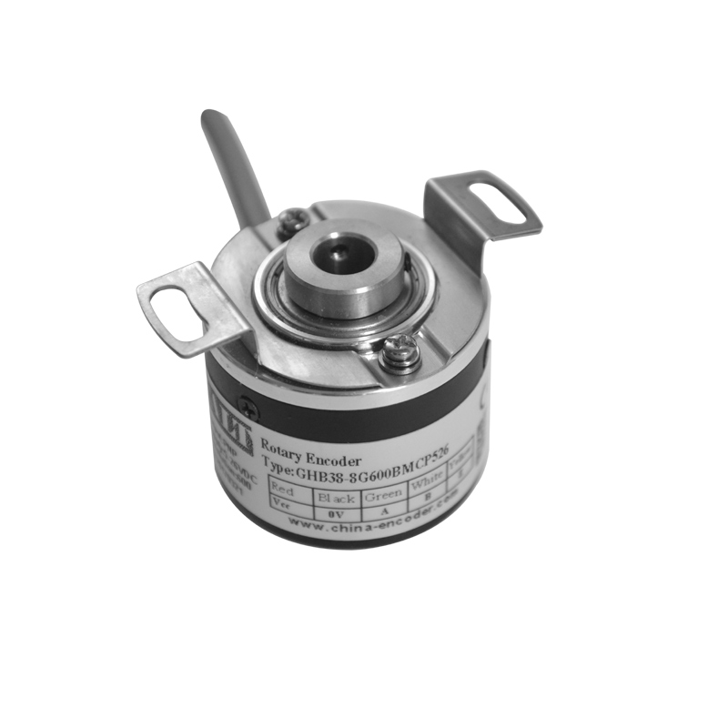 Rotary Encoder 38mm diameter 8mm hole 1000 pulse blind shaft encoders use for embroidery machine