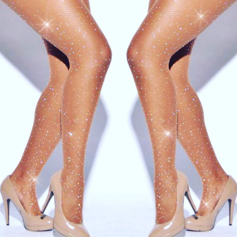 Killer Legs Women Lace and Roses Fishnet Tights Plus Size Stocking Pantyhose