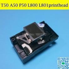 Лучший Печатающей головки печатающей ГОЛОВКИ Для EPSON A50 P50 L800 L801 L803 Головка Принтера