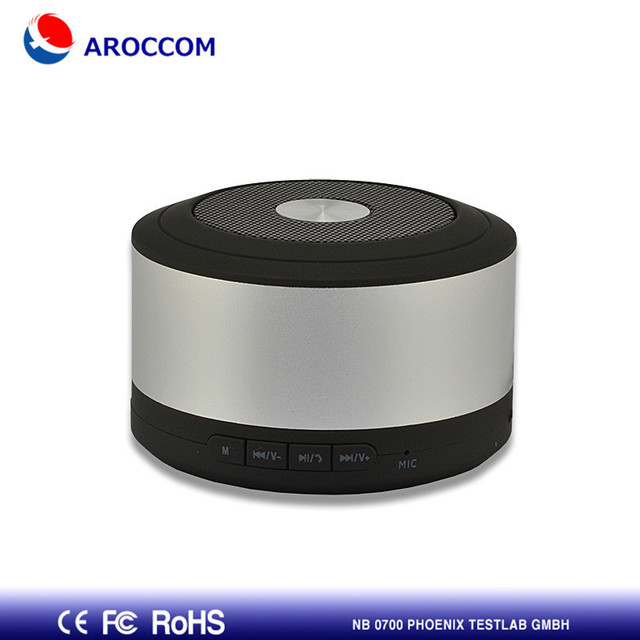 US $18 99 |Silver Portable Original Metal Cylinder Style Mini Rechargeable  Bluetooth Speaker Audio Call Mic TF Card Wholesale Free Shipping-in