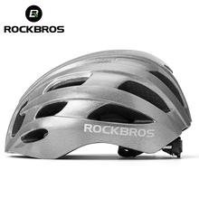 ROCKBROS Cycling Helmet Reflective Mens Bicycle Helmet PC+EPS Ultralight Professional Road MTB Racing Bike Security Cap 57-62 CM