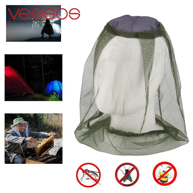 Anti Mosquito Bug Bee Insect Mesh Hat Head Face Protect Net Cover Travel Camping Protector (NO Cap Hat) naturehike outdoor anti mosquito head protection mesh fabric head cover mask black