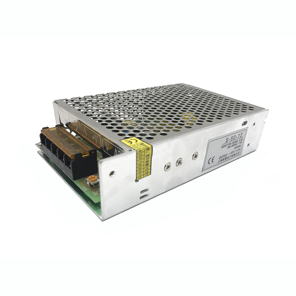 AC 110V 220V to DC 48V 50W 1A Single Output Switching Mode Power Supply SMPS Lighting Voltage Transformer For LED Strip Driver