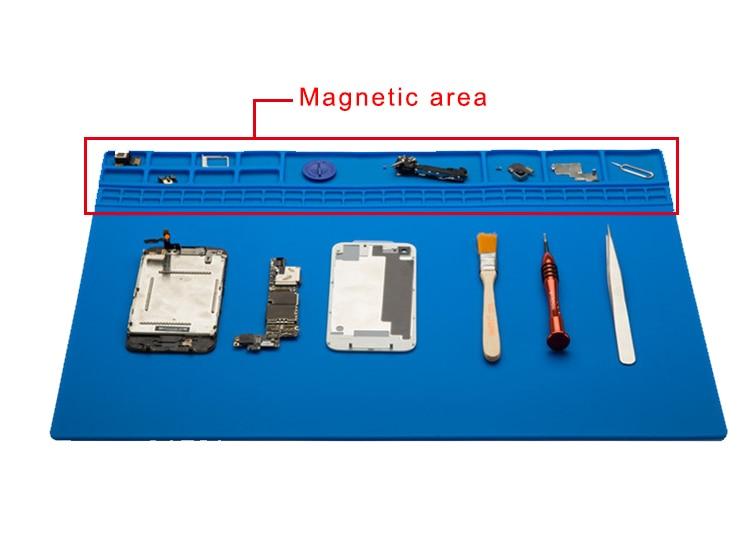 35x25cm mobiiltelefonide remondijaama magnetilise kujundusega - Tööriistakomplektid - Foto 6