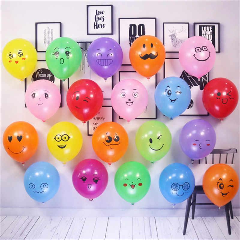 5 шт. 2,2 г улыбка уход за кожей лица воздушный шар из гранулированного латекса воздушные шары День рождения Свадебные шары детская вечеринка наборы; детский душ мальчик