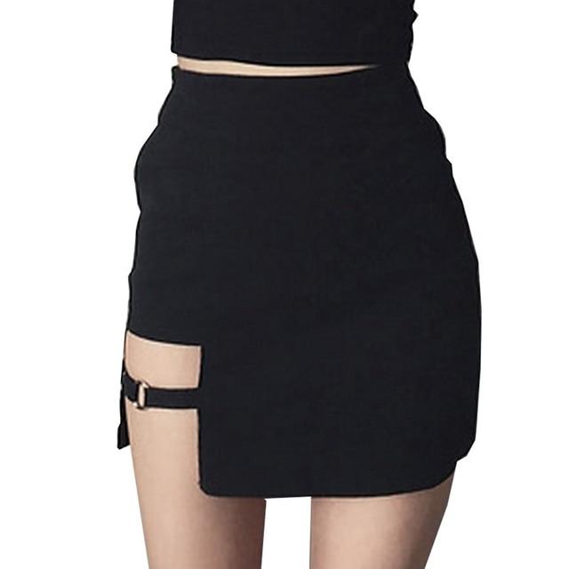 Asymmetrical Mini Dress