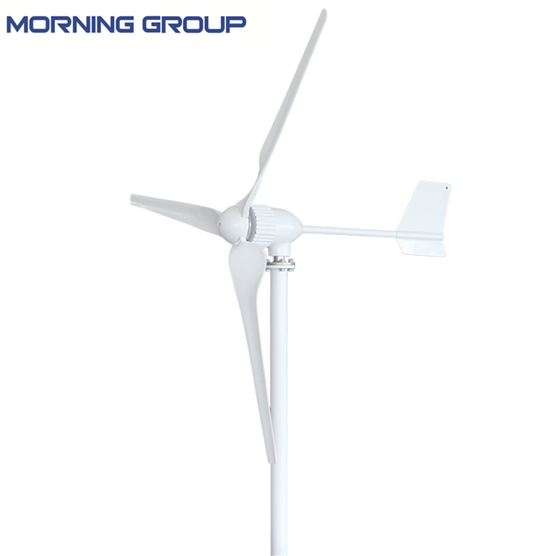 M5 1000W 3 Blades Three Phase AC Permanent Magnet Generator Wind Turbine 24V 48V 2 5m s start up wind speed three phase 3 blades 1000w 48v wind turbine generator with 1000w 48v waterproor wind controller