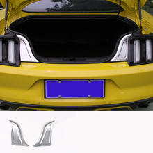 lsrtw2017 aluminum alloy car trunk trims for ford mustang 2015 2016 2017 2018 2019 6th generation