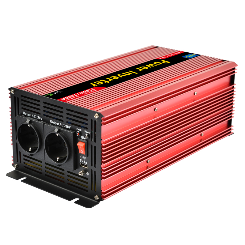 Inverter 12v 220v 3500w/7000w peak Car Vehicle power inverter with USB charger-in Inverters & Converters from Home Improvement