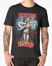 New Britney Spears Slave for You Mens T-shirt size S-2XL Top Quality Cotton Casual Men T Shirts Free Shipping