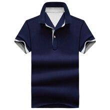 Mens Polo Shirt Brand Shirts Clothing Streetwear Men Tops & Tees Collar Solid Slim Casual Short Sleeves
