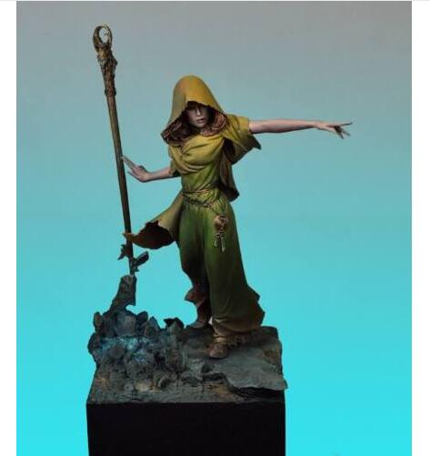 1/24 70mm Ancient Morgana Of Avalon Fantasy    Toy Resin Model Miniature Kit Unassembly Unpainted