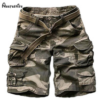 2014 New Summer Mens Casual Army Camo Cargo Shorts Cotton Short Pants Military Camouflage Fashion Shorts