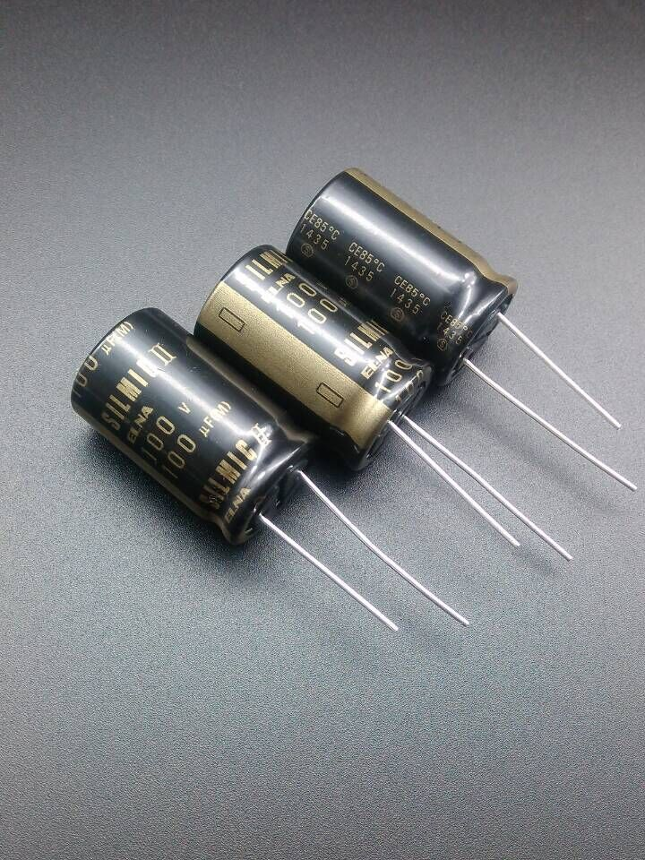 2019 Hot Sale 10pcs/30pcs ELNA SILMIC II RFS Origl Authentic 100uF/100V New Spot Electrolytic Capacitor Free Shipping