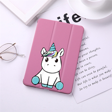 Unicorn Print Flip Tablet Case Cover for iPad Pro 9.7