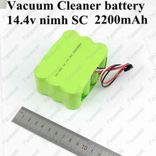 Brand ni-mh 14.4v battery SC 2200mah Ni mh Vacuum Cleaner bateria nimh sc battery for KV8 Cleanna series XR210 XR510 A B CDEFG