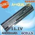 4400mAh 6 cells laptop battery for HP pavilion dv7 G32 G42 G56 G62 HSTNN-CBOW HSTNN-F01C HSTNN-F02C HSTNN-I78C HSTNN-I79C