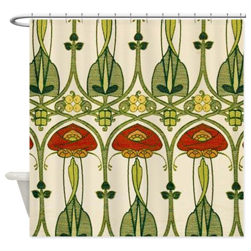Belle Epoque Fabric Decorative Fabric Shower Curtain