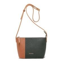 Fashion PU Leather Messenger Bag for Women Single Shoulder Bag Envelope Ladies Color Stitching Bag Small Crossbody Bags