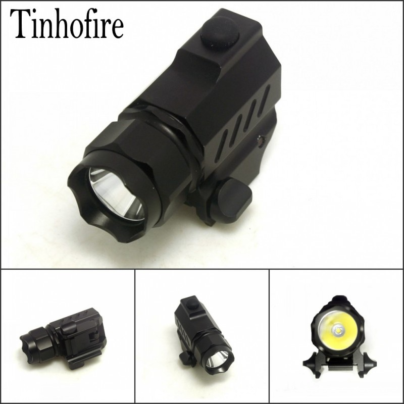 Tinhofire G01 600lumens Cree XP-G R5 2-Mode Hunting Mini LED Torch LED Tactical Lights Flash Gun Flashlight