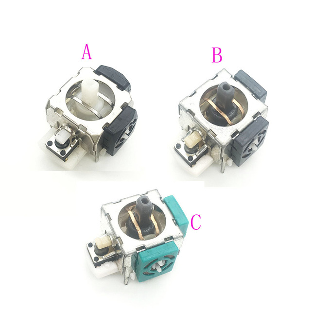 60PCS For PS2 Replacement 3D Analog Module Joystick Axis for Microsoft Xbox 360 Controller