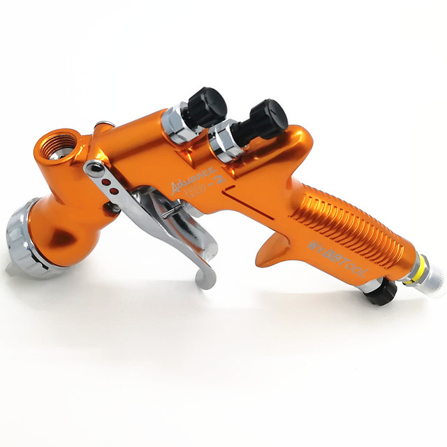 PISTOLA A SPRUZZO HVLP HD-2 Pistola A Spruzzo Gravity Feed per tutte le Auto Vernice, 600cc di Plastica Pai spruzzatore di acqua a base di automotive pistole LVMP