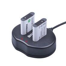 2x NP BX1 NP BX1 accu NPBX1 Dual bateria USB charger For Sony NP BX1 HDR