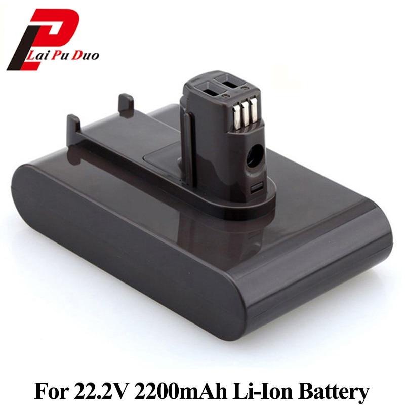 все цены на 22.2V 2200mAh Li-ion Replacement Battery For Dyson Vacuum Cleaner DC31 DC34 DC35 DC44 DC45 917083-01 (Not Fit Type B, DC44 MK2) онлайн