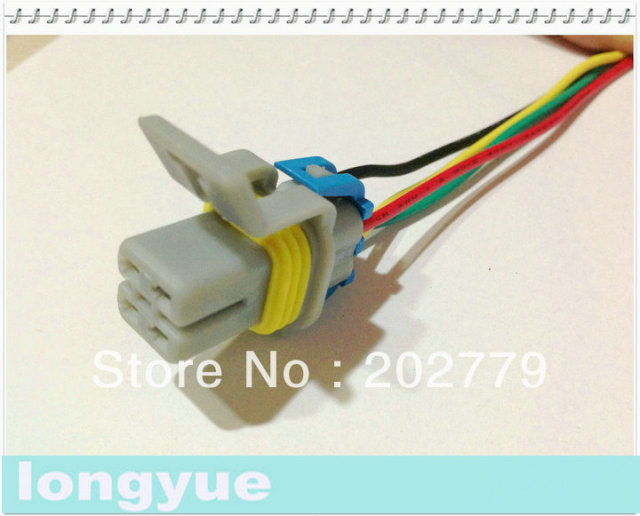 Longyue 10 Pcs O2 Oxygen Sensor Pigtal Fuel Pump Wiring Harness - Fuel Pump Wiring Connectors
