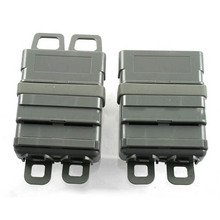 Tactical 7.62 version of FAST MAG quick pull M4 Magazine Pouch module combination two sets for hunting Airsoft waregame