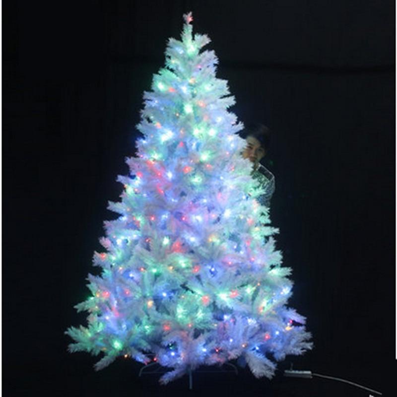 Nuevo rbol de navidad 1 8 m 180 12cmled luces del rbol de navidad luces de navidad decoraci n - Luces arbol de navidad ...