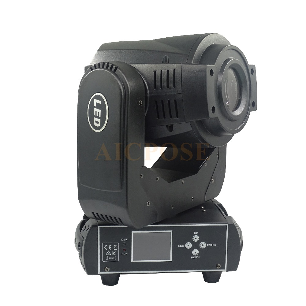 LED Moving Head Light 90w with 3Face Prism Spot Light with Rotation Gobo Function for DJ Disco Stage Projector