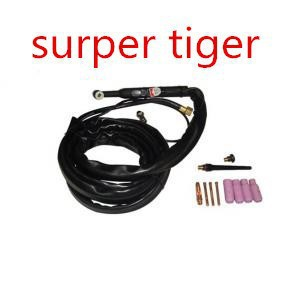(Super Tiger)!!NEW DESIGN wp-17 Black  tig welding torch AIR cooling wp-17 affordable and Good quality. 4M supply chain of transmission quality and affordable 20ab