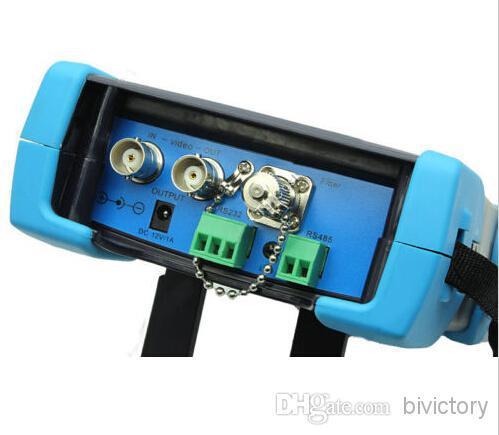 The newest 3.5 TFT-LCD CCTV tester HVT-2612 PTZ controller/Colorbar generator /UTP cable test/