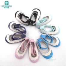 Doll accessories 6.5cm * 3cm shoes salon doll and 1 / 4BJD doll Lace shoes Free shipping