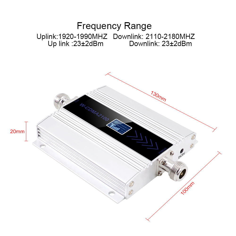 Image 2 - 3G Ripetitore 2100MHz Repeater LCD WCDMA 2100 MHZ Mobile Phone mini Signal Booster Signal Booster/Amplifier Cell Phone Amplifier-in Signal Boosters from Cellphones & Telecommunications