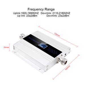 Image 2 - 3g ripetitore 2100 mhz repetidor lcd wcdma 2100 mhz telefone móvel mini impulsionador de sinal/amplificador telefone celular amplificador