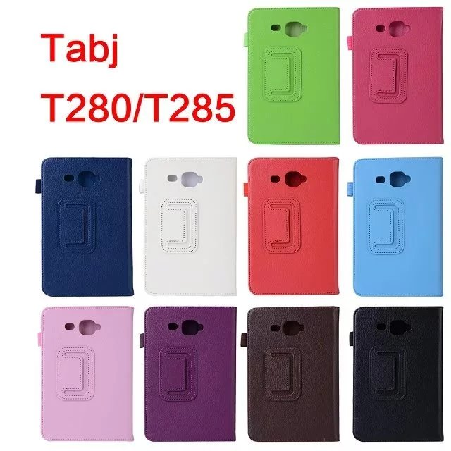 Case For Samsung T280 T285 Stand PU Leather Flip Cover For Samsung Galaxy Tab A A6 7.0 SM-T280 SM-T285