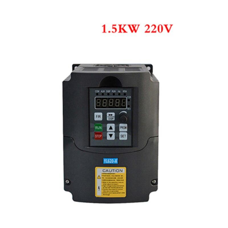 0.75 kw, 1.5kw, 2.2kw, 3kw 220v AC fréquence inverseur monophasé entrée 3 phases sortie ac lecteurs/convertisseur de fréquence