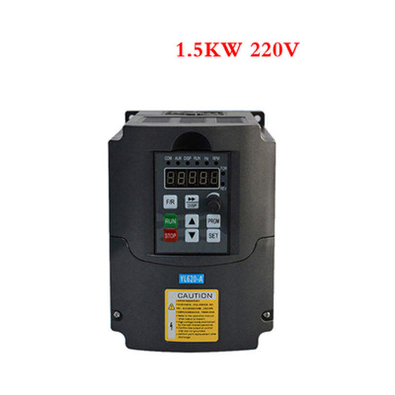 Convertisseur de fréquence d'inverseur 1.5KW/2.2KW/220 V vitesse réglable 1500 W 220 V inverseur universel haut de gamme de moteur de vecteur d'inverseur
